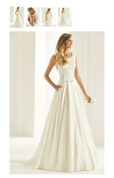 c1d6825c0cfd Prinsesse elegant brudekjole.Flot knappet ryg brudekjole. Butik i  København. Www.brudekjoler