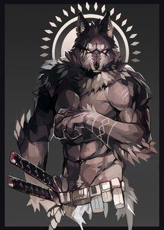 < Werewolf > REVAN-NEST ; Pixiv
