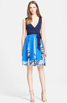 Diane+von+Furstenberg+'Malba'+Sleeveless+Wrap+Dress+(Nordstrom+Exclusive)+available+at+#Nordstrom