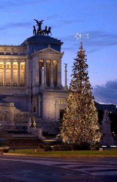 Albero di Natale al Vittoriano, Rome | Flickr - Photo by Maurizio Contini
