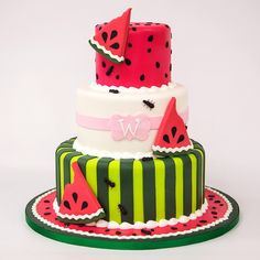Ants & Watermelon Cake