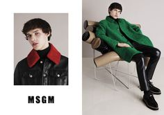 Exclusive: Massimo Giorgetti on MSGM's Fall '15 Ad Campaign and Why Youth Is the Secret to Good Fashion - Gallery - Style.com