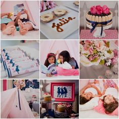 slumber party Birthday Party Ideas | Photo 1 of 33 | Catch My Party