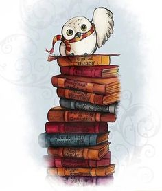 Image via We Heart It http://weheartit.com/entry/203798209 #book #books #harrypotter #harrypotter #hedwig #hp #pages #potter #read #reader #reading #stories #story #harry