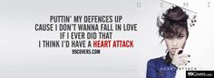 #HeartAttack #DemiLovato i love her! She so strong and an honest person!