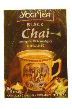 YOGI TEA,OG3,BLACK CHAI, 16 BAG * Want additional info? Click on the image.