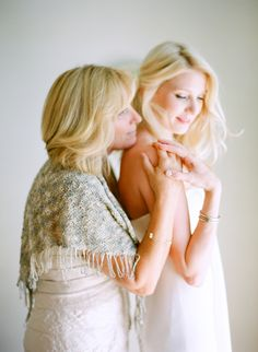 Must get a photo of the mother and her daughter getting ready to be married, like this found on @Jena McClendon Kittie Wed