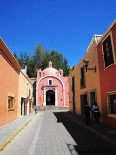 Colorful Street, Tlaxcala, Mexico