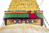 Prayer Flags At Swayambhunath, Kathmandu Royalty Free Stock Photo, Pictures, Images And Stock Photography. Image 7988487.