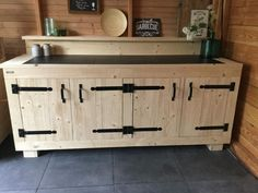 Barbecue, Man Cave, Buffet, Woodworking, Cabinet, The Originals, Storage, Furniture, Home Decor