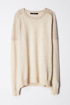 sequin-dusted knit