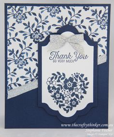 Stampin Up, #thecraftythinker, Bloomin Love, #crazycraftersbloghop