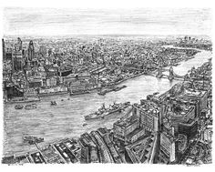 The View from the Shard - drawings and paintings by Stephen Wiltshire MBE