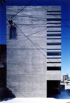 House with Shining Wall - Furumoto Architect