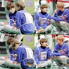 V ( Taehyung ) & Mark & BamBam GOT7 ISAC