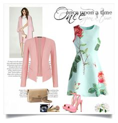 """once upon a time"" by estherkoopmans ❤ liked on Polyvore featuring J.O.A., maurices, Chicwish, ALDO, UGG Australia and Once Upon a Time"