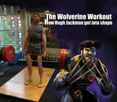 The Wolverine Workout Next ▶ When Hugh Jackman tweeted his workout pics, thousands of people re-committed themselves to getting fit. Lucky for you, we've got The Wolverine Workout right here. This grueling routine comes thanks to Mike Ryan, Hugh Jackman's personal trainer.   But if you want Wolverine's body, you'll . . .