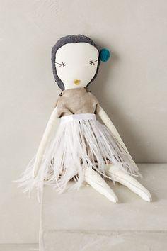 Hand-Stitched Rag Doll - anthropologie.com
