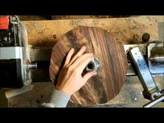 Woodturning bowls complete process series video 3 mounting your blank - YouTube