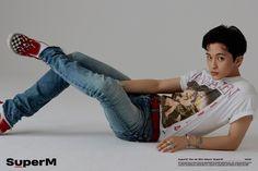 NCT 127 Mark for SuperM concept photo Mark Lee, K Pop, Jaehyun, Shinee, The Avengers, Capitol Records, Taemin And Kai, Nct 127 Mark, Calvin Klein Models