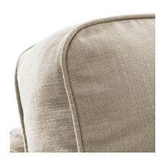 EKTORP Corner Sofa 2+2, Nordvalla Dark Beige   Nordvalla Dark Beige   IKEA