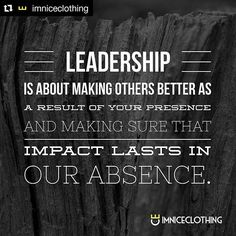 Leadership is about making others better as a result of your presence and making sure that impact lasts in our absence. Truth And Dare, Dares, Did You Know, Leadership, Australia, Magazine, Magazines, Warehouse, Newspaper