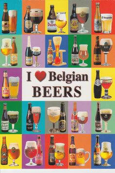 I <3 Belgian beer - some of the very best in the world ... and AVL has just the place to indulge that ... the great Belgian Beer Bar in the Thirsty Monk (lower level - downtown location on Patton Avenue)