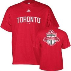 Toronto FC NWT MLS t-shirt new with tags soccer Canada U-Sector Red Patch Boys NWT