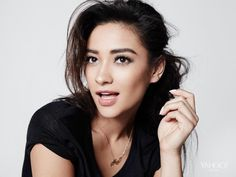 """Filipina-Canadian and """"Pretty Little Liars"""" star Shay Mitchell is among People Magazine's Most Beautiful Women in the World in Born in Ontario, Black Hair Brown Eyes, Shay Mitchell Style, Red Haired Actresses, Celebrity Wallpapers, Celebs, Celebrities, Pretty Little Liars, Pretty Girls, Belle Photo"""