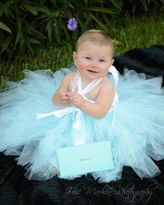 READY TO SHIP Robins Egg blue tutu Dress with satin ribbon, 6-12 months, Photo Shoot, Birthday, Flower Girl, Dress up,Custom Made #etsymnt #Princesstutus