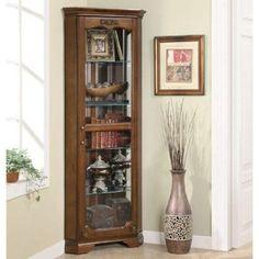Beautiful All Glass Curio Cabinet
