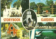 Vintage OLD Postcard Unused London Ontario Canada Storybook Gardens Collage | eBay