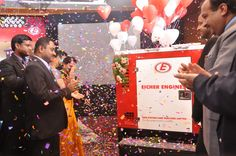 The last leg of the Eicher Engines 5/7.5 kVA gensets launch by TMTL was held in Hyderabad amidst much fanfare and celebrations. A lot many number of deliveries were made at the event to eager customers. The buzz around the 5/7.5 kVA gensets is quite palpable as they happen to be 'First' and 'Best' in class gensets running at 1500 rpm.  Congratulations to the TMTL Engines Division on this remarkable achievement.  Click the image to view more pictures from the launch.