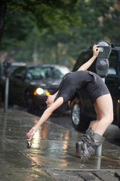 Dancers Among Us, Washington Heights, NYC - Tenealle Farragher by Jordan Matter - http://www.dancersamongus.com/