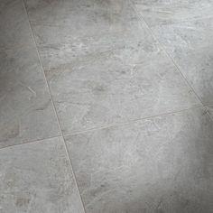 Slitstark klinkerplatta i granitkeramik som finns i färgerna Bauhaus, Kitchen Room Design, Room Goals, Marble Effect, Floor Design, Bathroom Inspiration, Wall Tiles, Tile Floor, New Homes