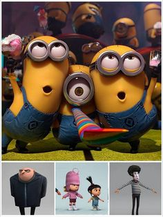 Despicable Me... It's so FLUFFY!!!