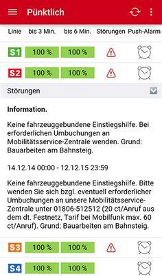 Navi S-Bahn Stuttgart (Android) _realtime-data