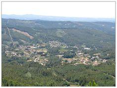 .Vista para a Sapateira e Vilar, Castanheira de Pêra, Portugal