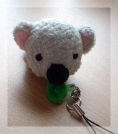 Hungry Cute Koala Plush Hanger