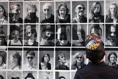 Live street art photo booth by Fabian David (Lyon, France)