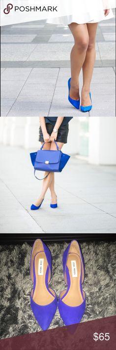 Cobalt Blue Pointy Toed Pumps Gorgeous cobalt blue pumps! New in box Steve Madden Shoes Heels
