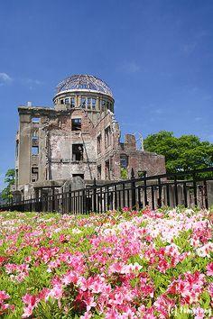 Atomic Bomb Dome,Otemachi, Naka-ward, Hiroshima city, Japan.
