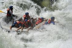 It has been described as a day in a dishwasher, definitely an adrenaline rush! White water rafting on the Zambezi. Check out our blog about about all the things to do at the Falls: http://www.extraordinaryjourneys.net/blog/activities-victoria-falls/