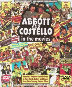 Abbott & Costello Movie Posters! Probably my favorite old comedy team! (though I do love many of them)