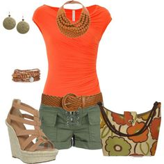 Cool Summer Outfits 2013 everything minus the purse