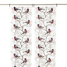 Paneeliverho Domherre Curtains, Shower, Prints, Room, Furniture, Home Decor, Rain Shower Heads, Bedroom, Blinds