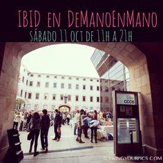 Este sábado estamos en Barcelona!  En el Centre de Cultura Contemporània de Barcelona, #CCCB, de 11h a 21h en el market #DeManoEnMano con nuestra  Eco Deco y Eco Fashion  // Dissabte ens veiem a #Barcelona !