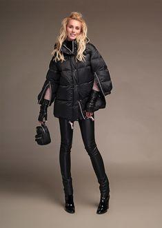 18 W 112 00 31 BLACK Куртка MISS NAUMI - официальный интернет магазин NAUMI b5f11884ee5