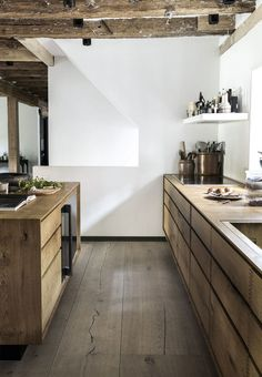 Wooden kitchen | modern rustic