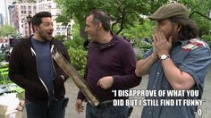Impractical jokers Joe was keeping murr bread warm so funny 💯❤️🌟😀 Joker Quotes, Movie Quotes, Impractical Jokers Tv Show, Brian Quinn, Funny Memes, Hilarious, Senior Quotes, Hooray For Hollywood, Really Funny